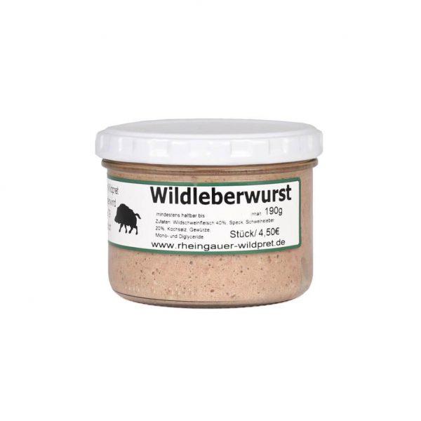 Wildleberwurst_Glas