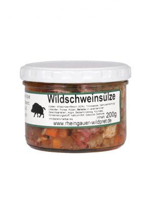 Wildschweinsülze 200 Gramm Glas